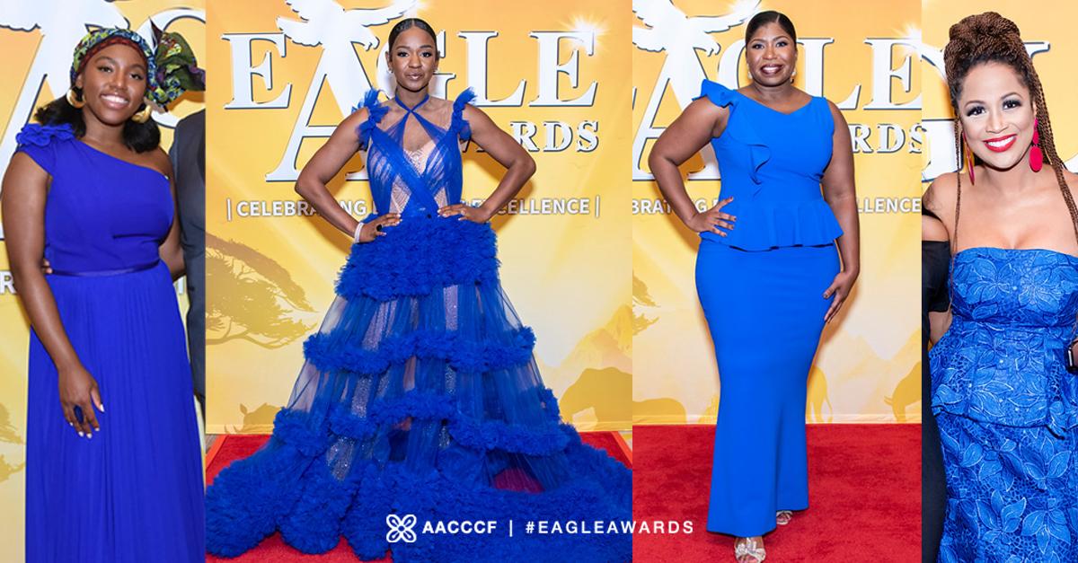 EA fashion lineup blue